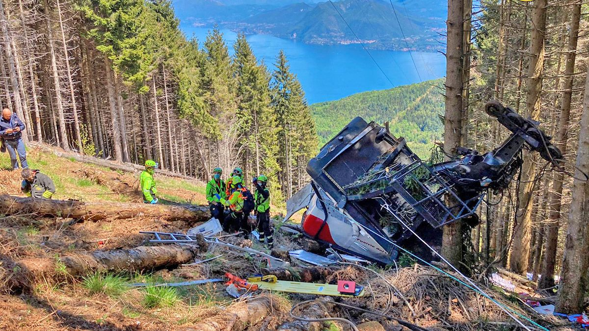 Three Arrested For The Cable Car Fall In Italy